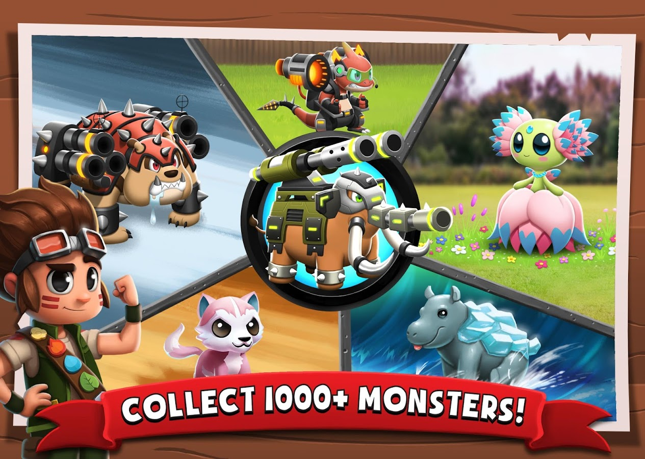 Battle Camp - Monster Catching Screenshot 14