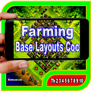 Farming Base Layouts Coc 2017