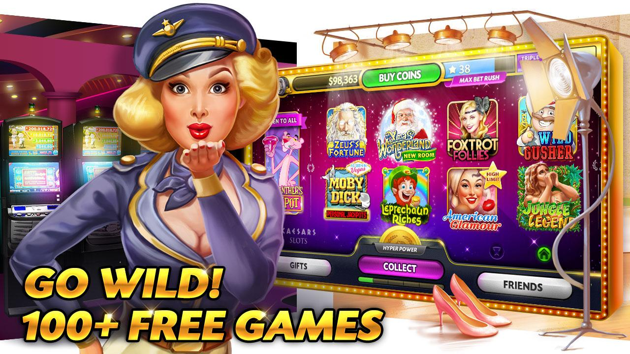 Caesars Slots Spin Casino Game Screenshot 1