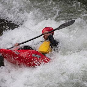 Kayak by VAM Photography - Sports & Fitness Watersports ( water sports, sports, man, kayak, colorado )