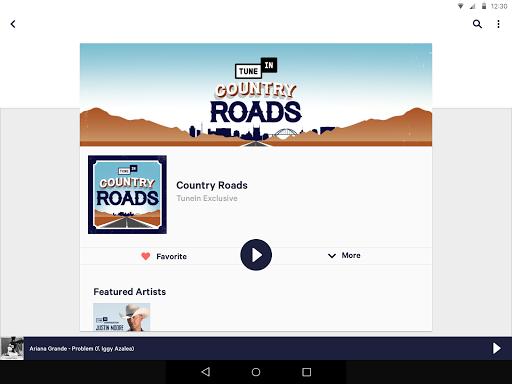 TuneIn: Stream NFL Radio, Music, Sports & Podcasts screenshot 10