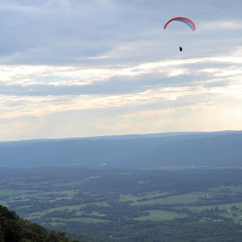 hang gliding in Tennessee by Steven Faucette - Sports & Fitness Other Sports ( window rock, sports, tennessee, hang gliding )