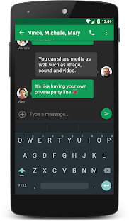 chomp SMS Screenshot