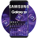Stylish Keyboard For Galaxy S9 Icon