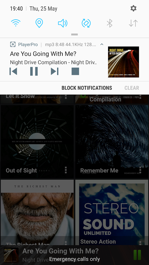 PlayerPro Music Player Screenshot 7