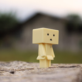 lonely by Octo Winarto - Artistic Objects Toys