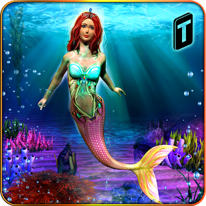 Cute Mermaid Simulator 3D