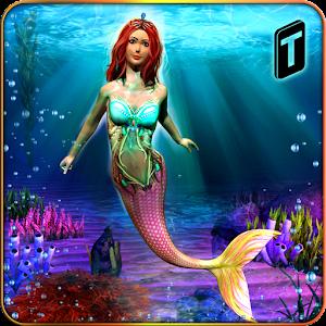 Cover art Cute Mermaid Simulator 3D