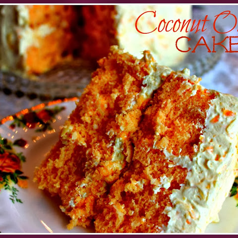 Aunt Ann's Coconut Orange Cake!