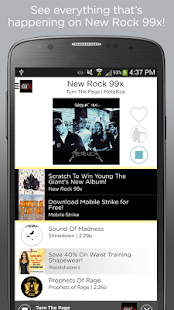 New Rock 99x - screenshot