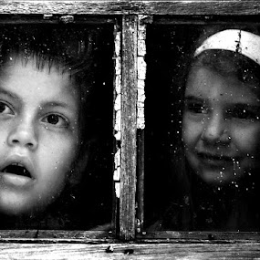 on the other side of the window ... by Boricic Goran - Babies & Children Children Candids