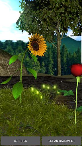 Sunflower Rose Livewallpaper - screenshot