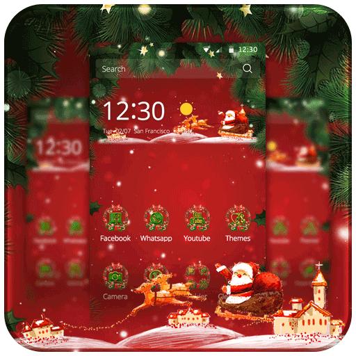 New Year Santa (app)