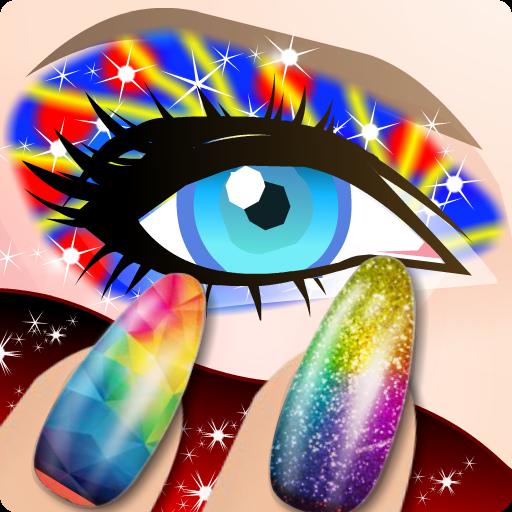 Princess Nail Art Salon and Beauty Makeup (game)