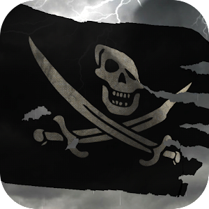3D Pirate Flag +