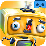 VR Chase Google Cardboard Game Icon
