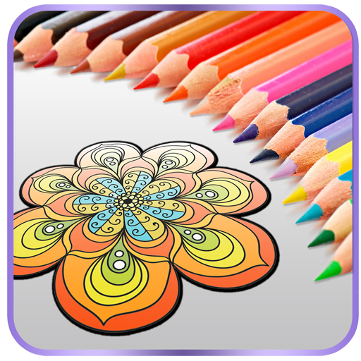 Mandala Coloring Book 4 Adults (app)