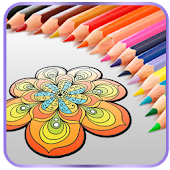 App Mandala Coloring Book 4 Adults APK for Kindle