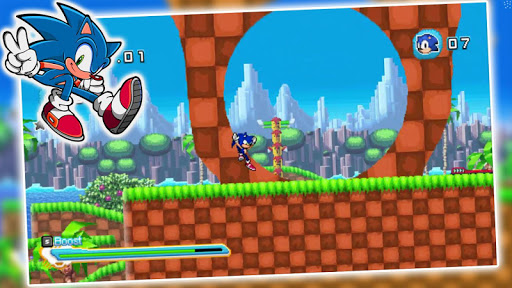 super sonic games run jump subway dash free For PC