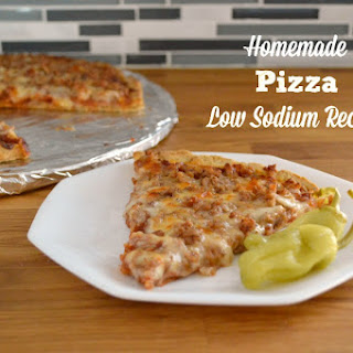 Low Sodium Pizza Sauce Recipes