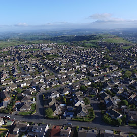 Aerial photo 3 by Marc Smith - Buildings & Architecture Homes ( aerial photograph, bradford, queensbury )