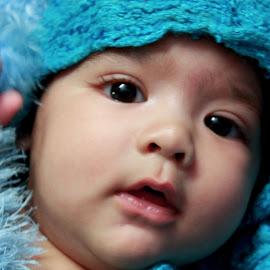 by Ananya Mazumdar - Babies & Children Babies ( serenity, blue, mood, factory, charity, autism, light, awareness, lighting, bulbs, LIUB, april 2nd )