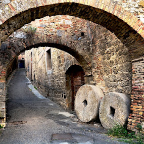 Medieval archway by Francis Xavier Camilleri - Buildings & Architecture Public & Historical (  )