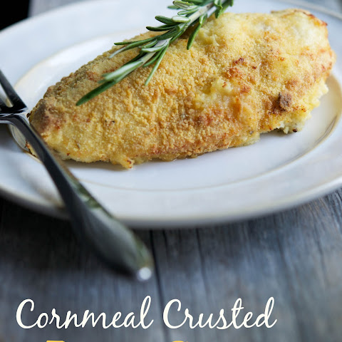 Cornmeal Crusted Baked Chicken