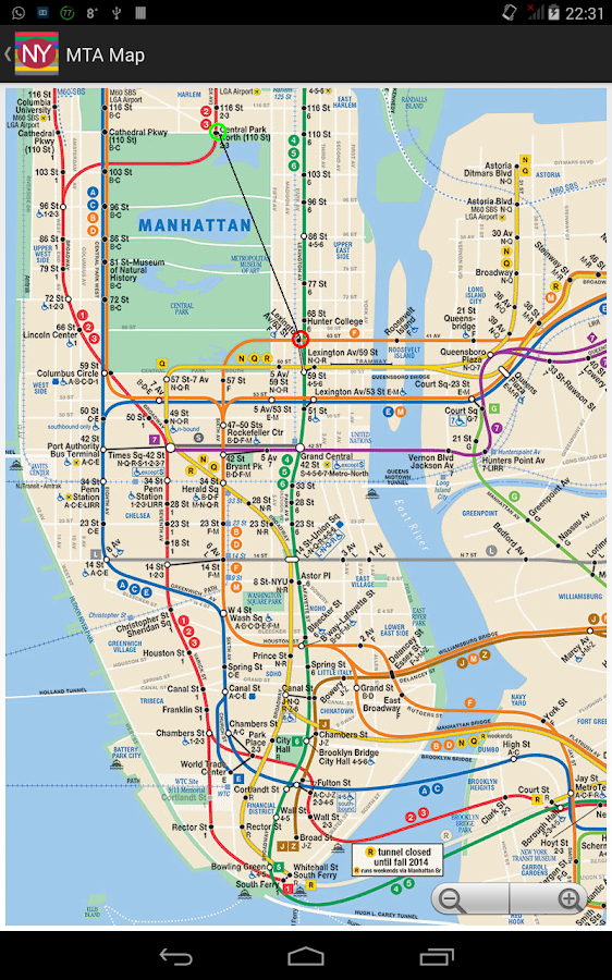 Newyork Subway Route Planner - Android Apps on Google Play