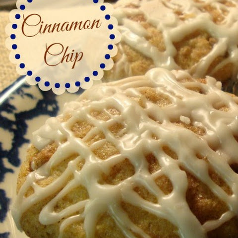 Cinnamon Chip Applesauce Muffins
