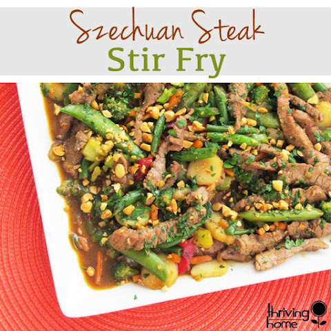 Szechuan Steak Stir-Fry