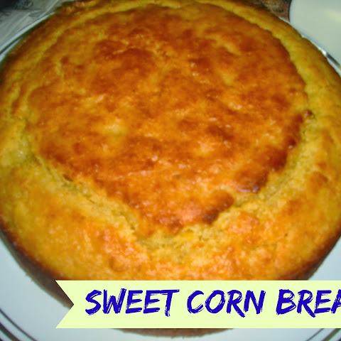 Sweet Corn Bread Recipe with Corn