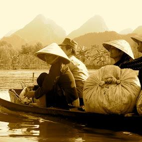 Commute to Work by Sloane Sheldon - People Street & Candids ( vietnam )