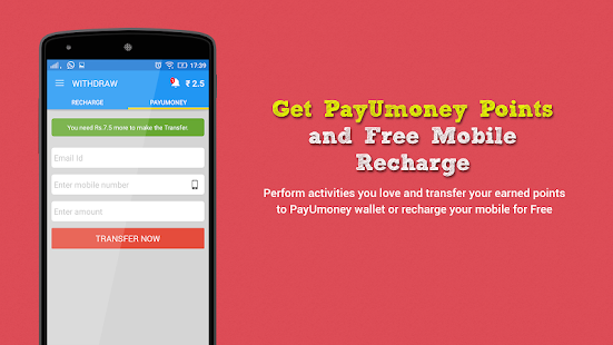 android apps download free mobile recharge