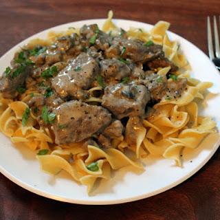 Ground Chicken Stroganoff Recipes