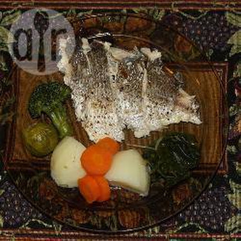 Whole Baked Fish with Herb Stuffing