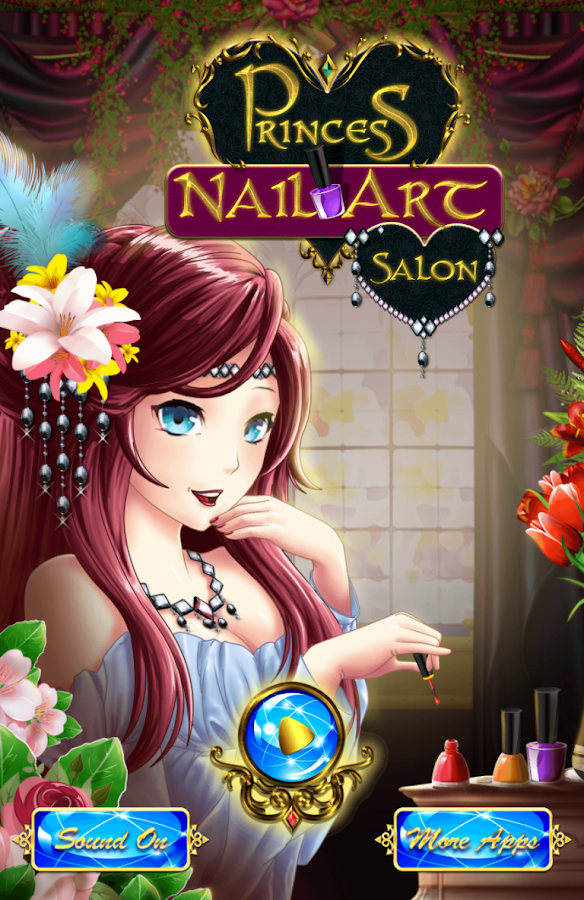 Princess Nail Art Salon Screenshot
