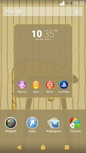 XPERIA™ Stripey Cat Theme