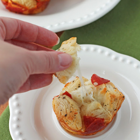 Pepperoni Pull Apart Muffins