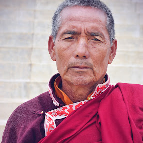 the LAMA by Ajay Mehta - People Portraits of Men
