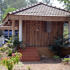 Resort Camp (Coorg - India). by Vinod Rajan - Buildings & Architecture Other Exteriors ( landscapes, landscape photography, forest, camping, building, camp, home, buildings, homes, resort, architectural, landscape, architecture,  )