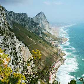 Gibraltar by Gabrielle Phillips - Landscapes Mountains & Hills ( gibraltar,  )