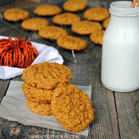 Pumpkin Oatmeal Cookies