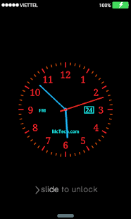 Live Clock Lock Screen   Android Apps On Google Play