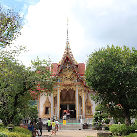 Kata temples by Kristin McMullan - Buildings & Architecture Places of Worship ( religion, temple, thailand, phuket, buddha )