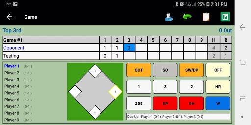 Dartball Statistician screenshot 2