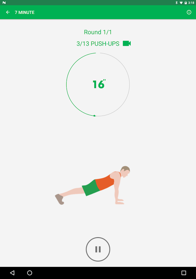 7 Minute Workout Screenshot 12