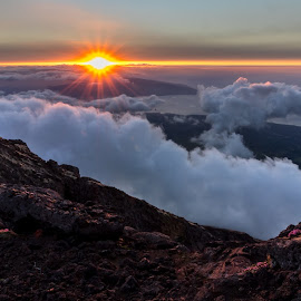 Pico by Paulo Fernandes - Landscapes Sunsets & Sunrises ( pico, sunset, azores, clouds,  )