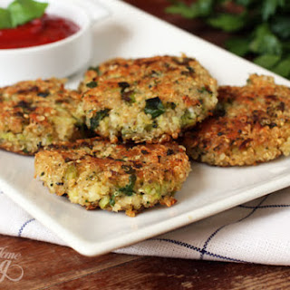 Quinoa and Broccoli Patties
