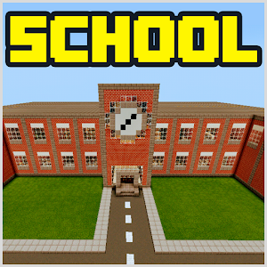 School and Neighborhood Map for MCPE Released on Android - PC / Windows & MAC